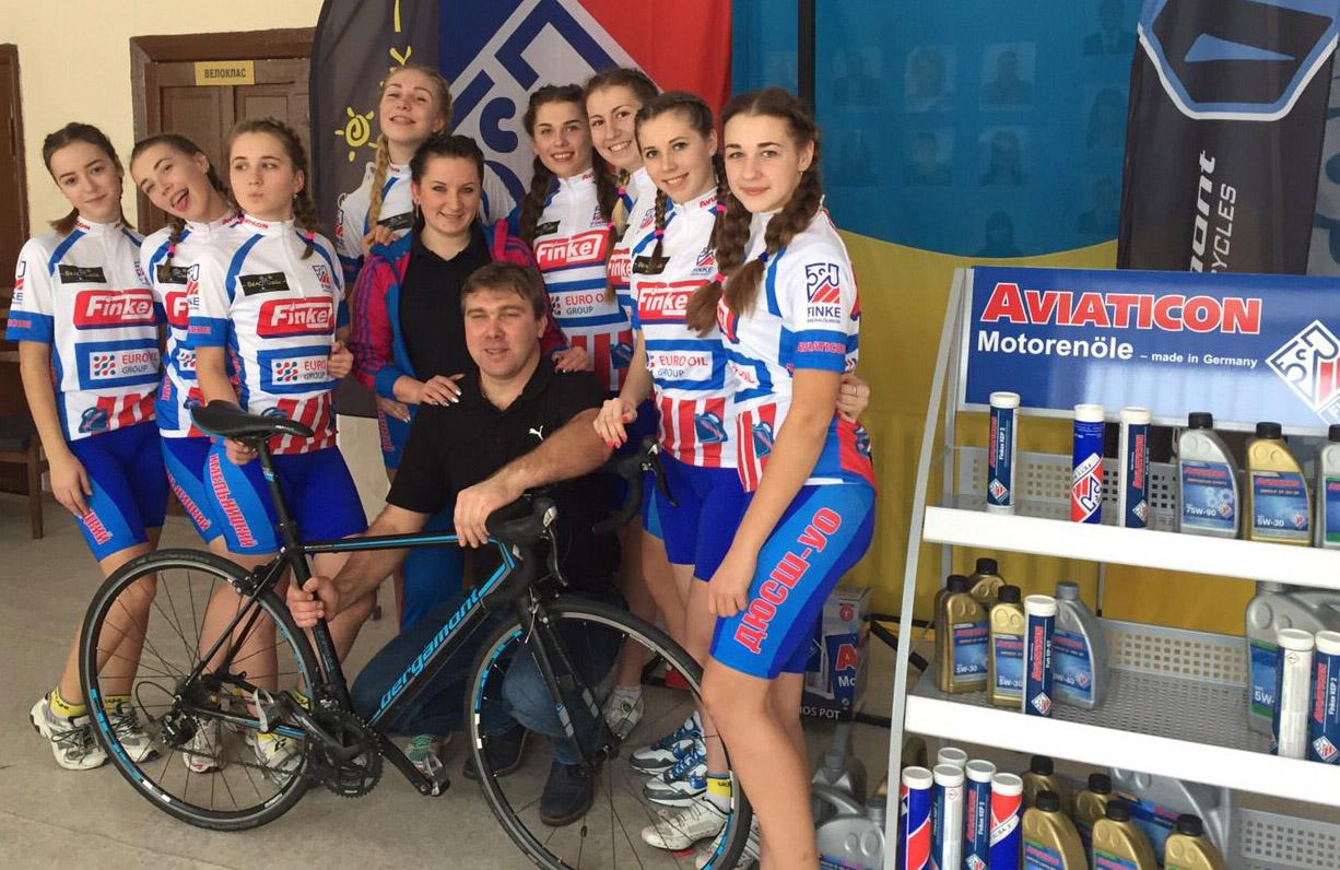 Sportler in der Ukraine unterstützt
