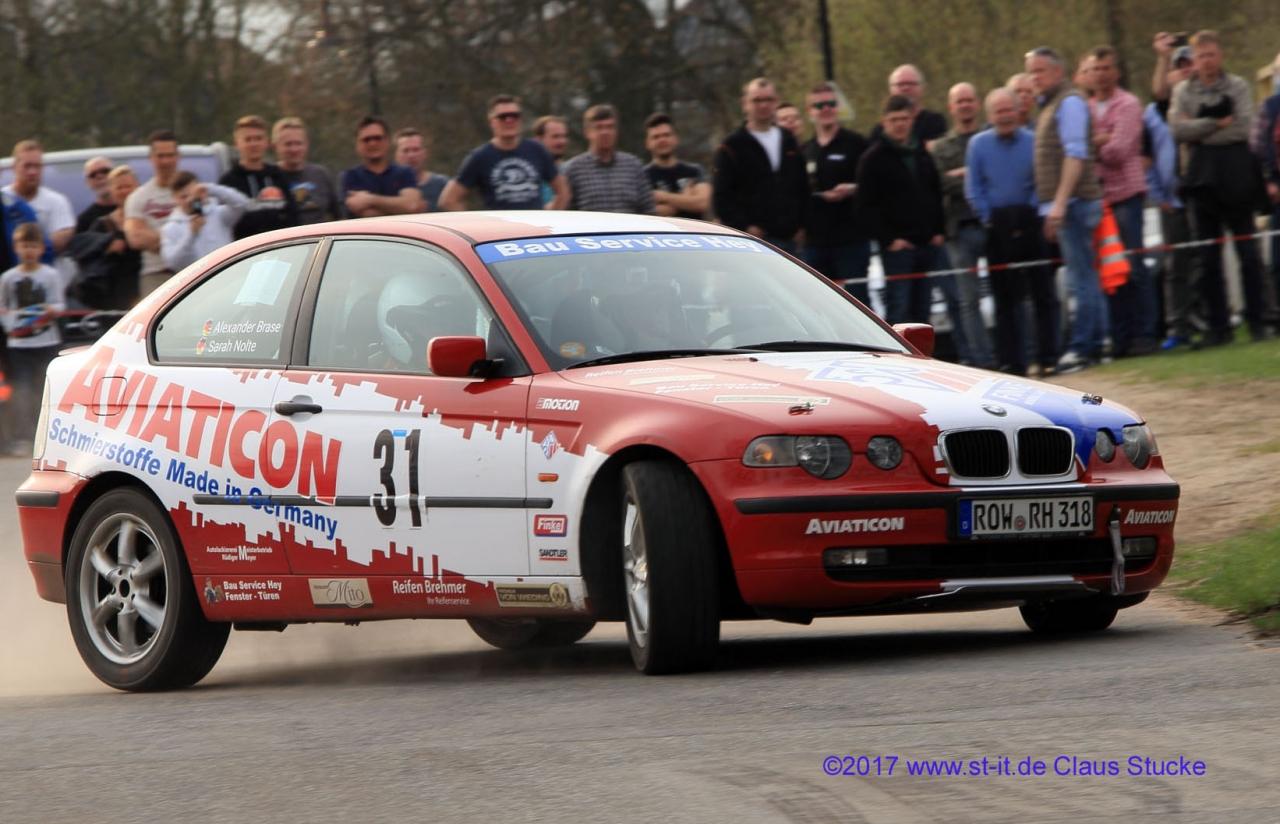 Gut in den Rallyesport gestartet