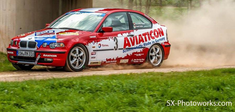 Dritter Rang bei der Roland-Rallye