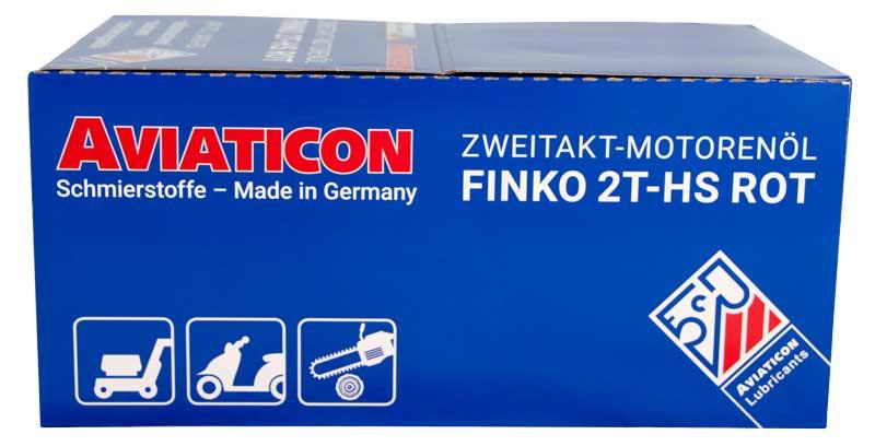 AVIATICON Finko 2T-HS Rot im Aufstellerdisplay