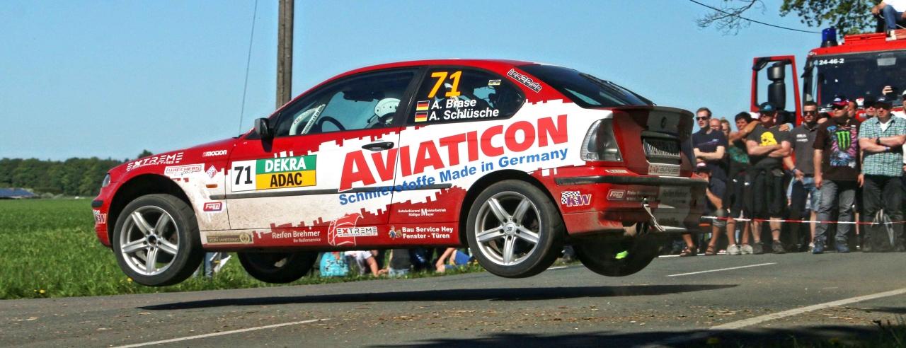 Finke-BMW bei der Deutschen Meisterschaft