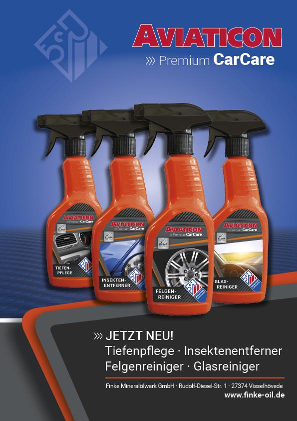 Fahrzeugpflege CarCare Premium mit neuer Qualität
