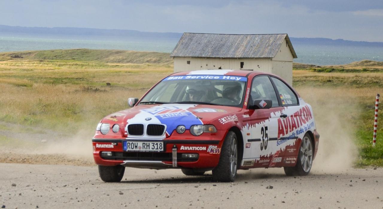 Mit dem Finke-BMW an der Ostsee