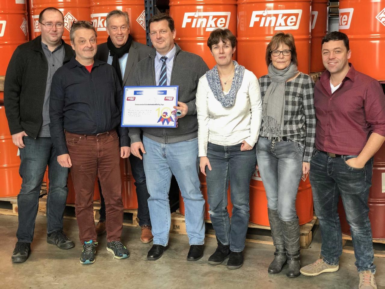Michael Tietz seit zehn Jahren bei Finke
