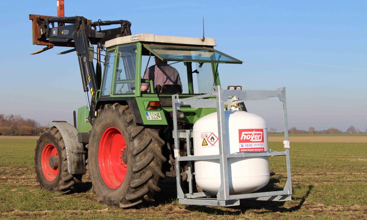 Landwirte informiert und bewirtet