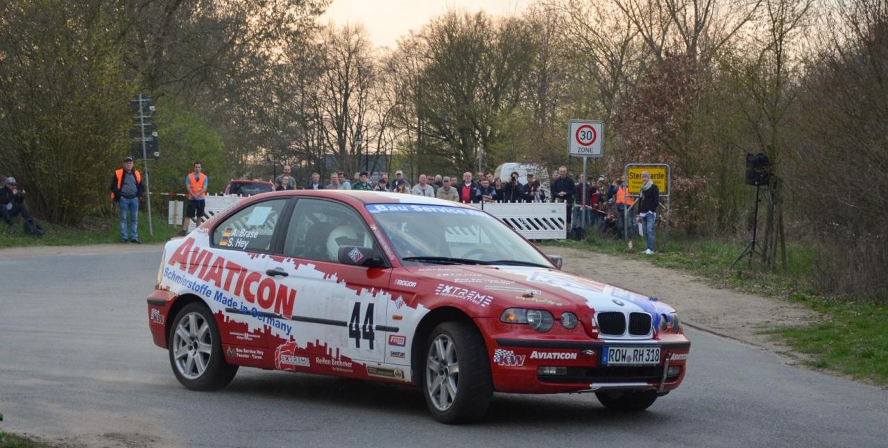 Im Finke-BMW aufs Podium