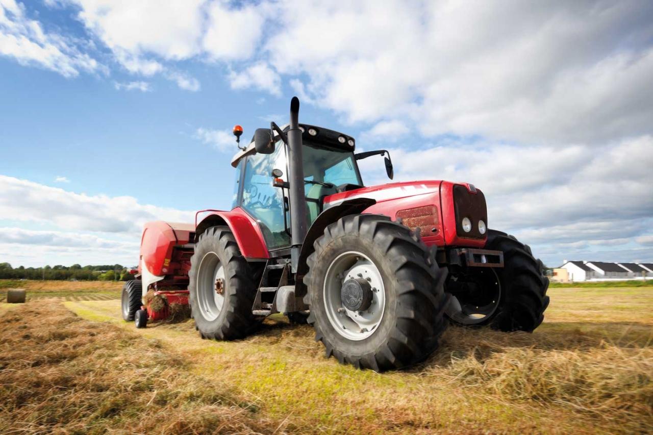 Schmierstoffe in der Landwirtschaft