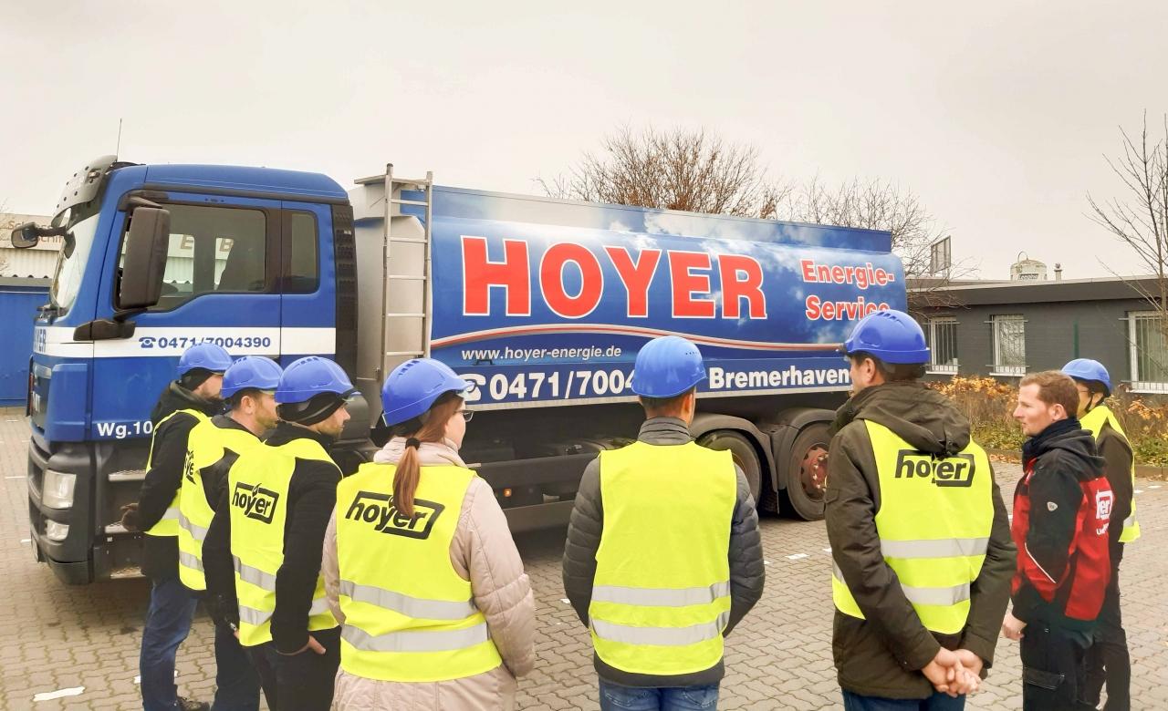 Hoyer stellte Tanklager vor