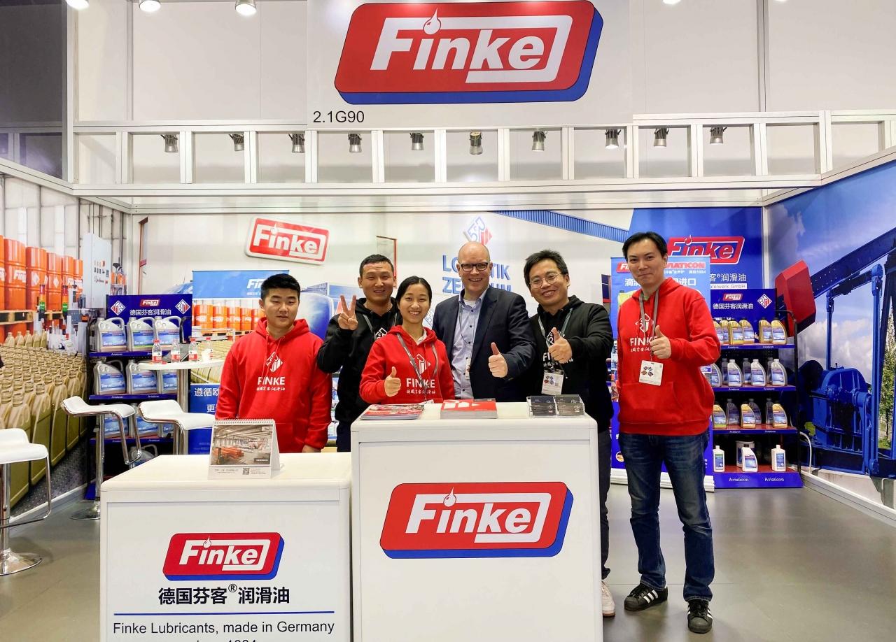 Finke auf der Automechanika Shanghai